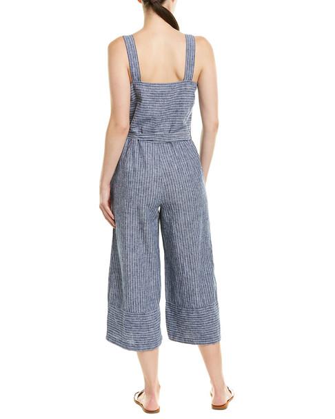 beachlunchlounge Linen-Blend Jumpsuit~1411421916