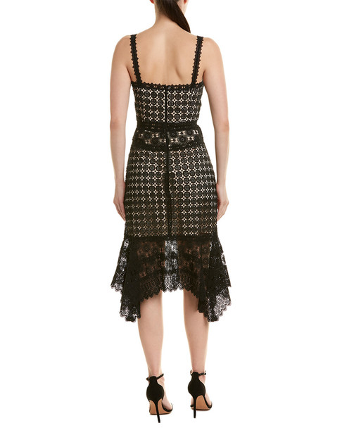 alice + olivia Tamika Cutout Cocktail Dress~1411742231