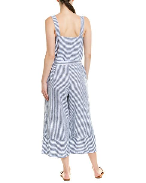 beachlunchlounge Linen-Blend Jumpsuit~1411772345