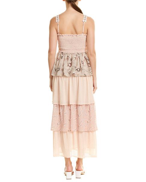 Allison Smocked Maxi Dress~1411782436