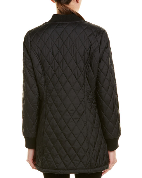 Urban Republic Thinfill Long Quilted Jacket~1411913991