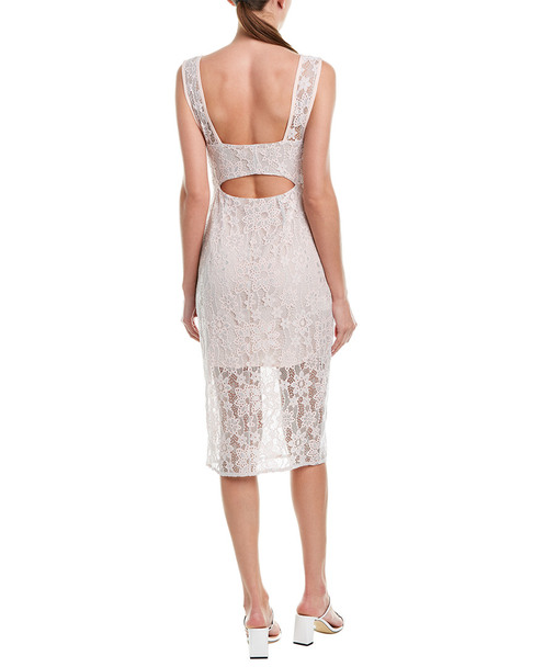 BCBGeneration Surplice Banded Midi Dress~1411917688