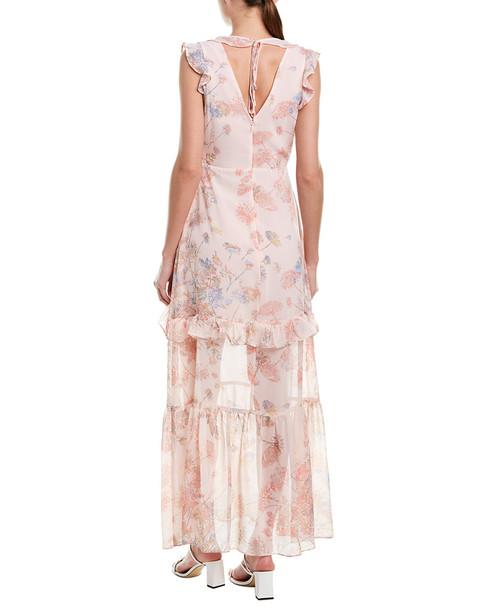 BCBGeneration Ruffle Maxi Dress~1411917691