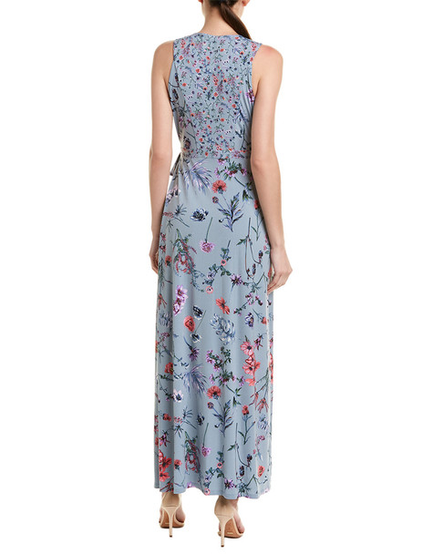 BCBGMAXAZRIA Floral Wrap Dress~1411920535