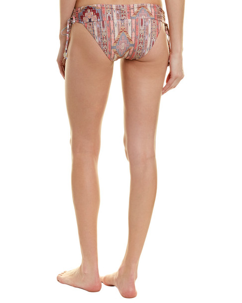 Ella Moss Glamping Shirred Bikini Bottom~1411997483
