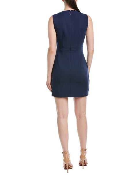 BCBGMAXAZRIA Draped Sheath Dress~1411998564