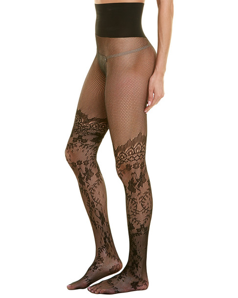 commando Floral Faux Thigh-High Tights~1412229907