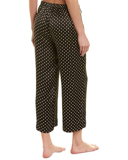 commando Wide Leg Cropped Silk Pant~1412229927