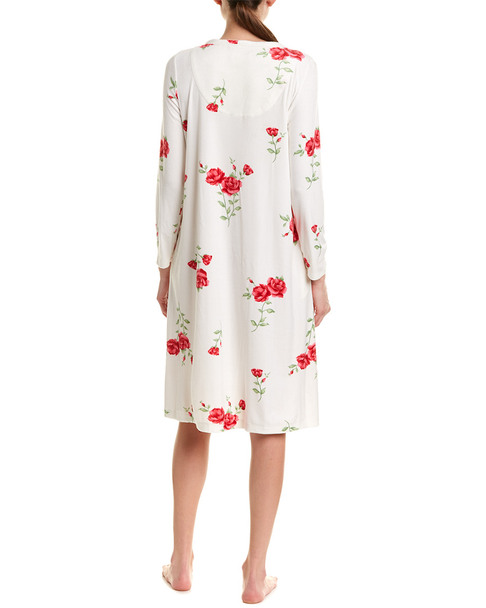 Carole Hochman Velour Nightgown~1412658036