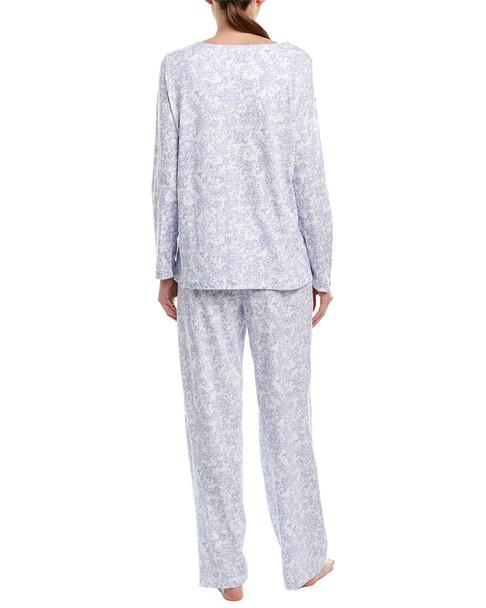 Carole Hochman 2pc Pajama Pant Set~1412658055