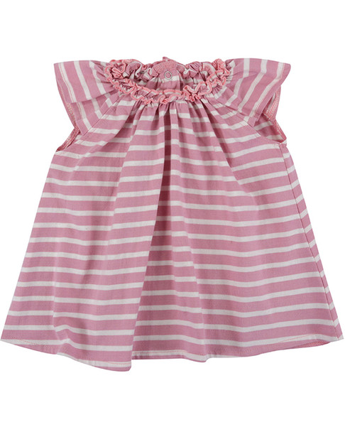 Lilly and Sid Pretty Gathered Stripe Dress~1511080466