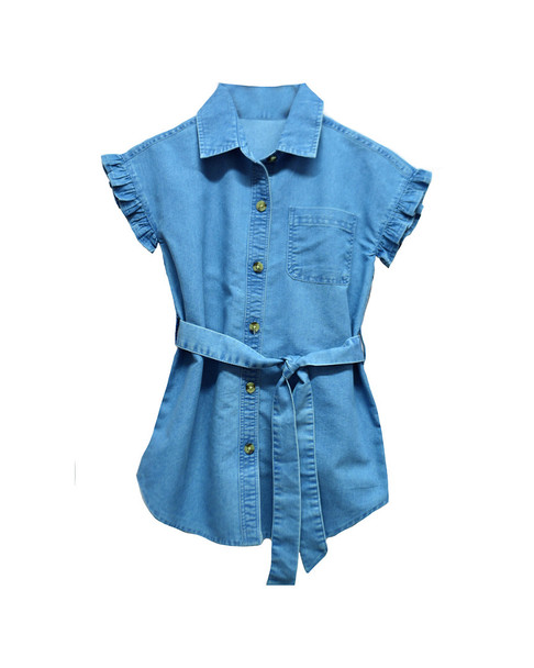 Kensie Girl Chambray Shirtdress~1511243915