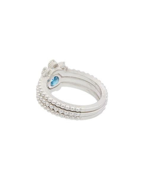 Judith Ripka La Petite Silver 0.76 ct. tw. Gemstone Ring~6030960528