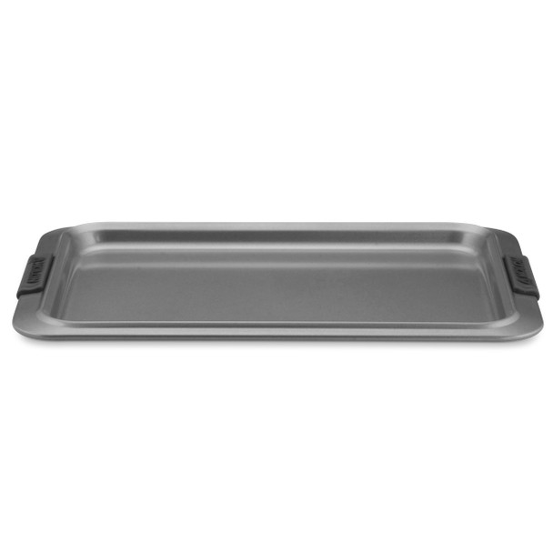 Anolon Advanced Nonstick 11-inch x 17-inch Cookie Sheet with Silicone Grips - Gray~54705