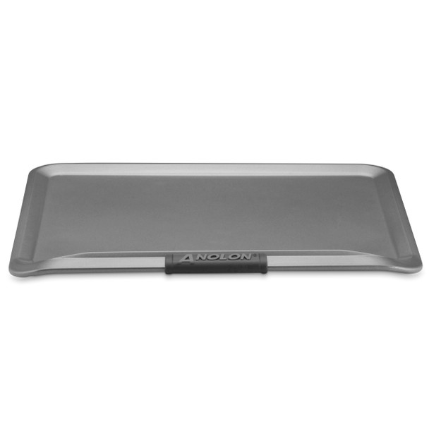 Anolon Advanced Nonstick 14-inch x 16-inch Cookie Sheet with Silicone Grips - Gray~54717