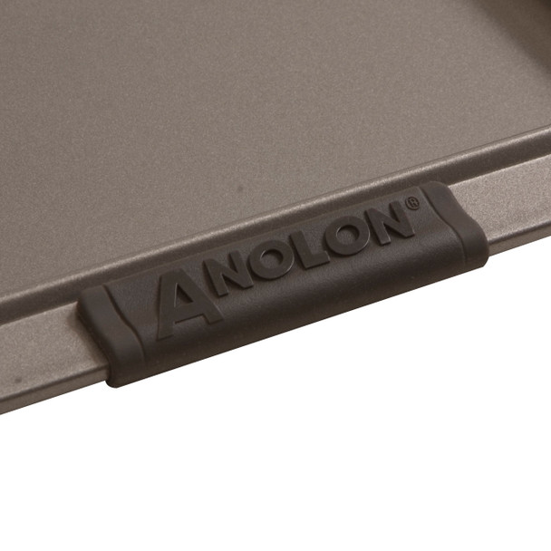 Anolon Advanced Nonstick 9-inch x 13-inch Rectangular Cake Pan with Silicone Grips - Gray~54706
