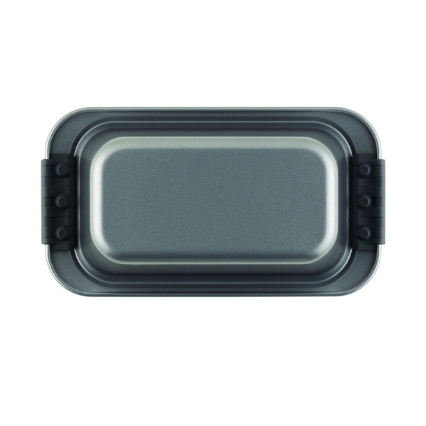 Anolon Advanced Nonstick 9-inch x 5-inch Loaf Pan with Silicone Grips - Gray~54709