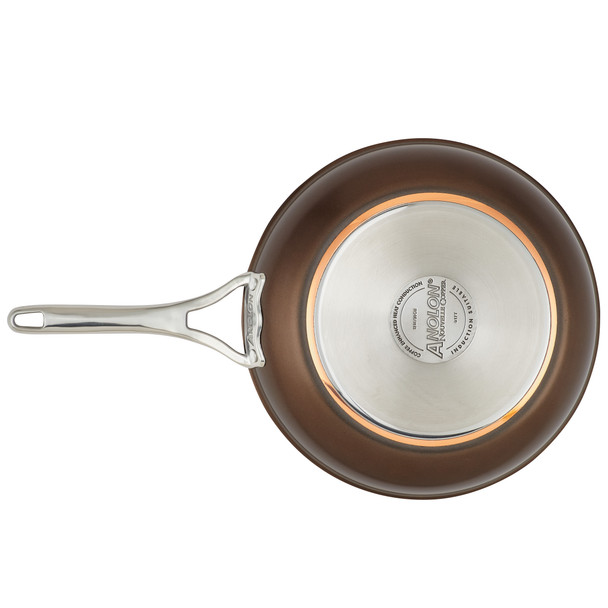 Anolon Nouvelle Copper Luxe Hard-Anodized Nonstick Skillet Twin Pack - Sable~83854