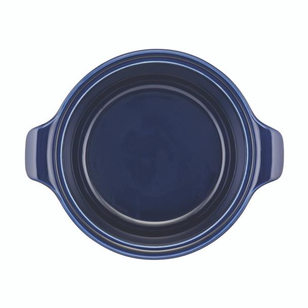 Anolon Vesta Ceramics 2.5-Quart Round Casserole - Cobalt Blue~51043
