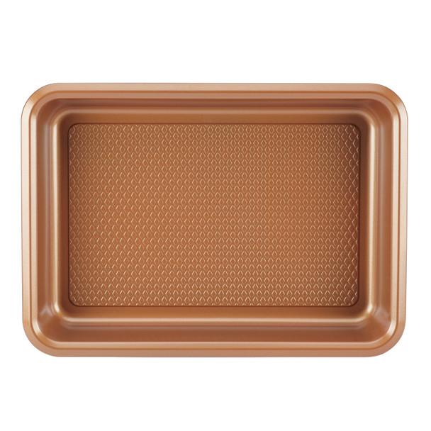 Ayesha Bakeware 9-inch x 13-inch Cake Pan - Copper~47000