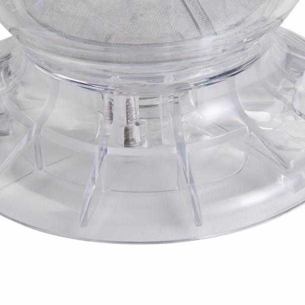 BonJour Coffee and Tea 19.5-Ounce BPA-Free Plastic Smart Brewer - Blue Chevron~46300