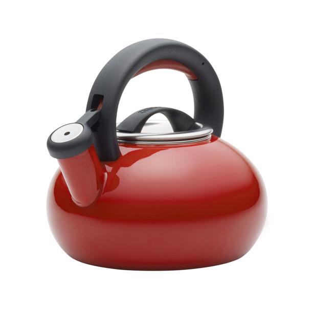 Circulon 1.5-Quart Sunrise Tea Kettle - Circulon Red~50066