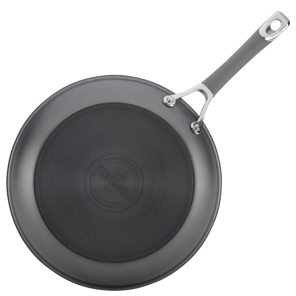 Circulon Elementum Hard-Anodized Nonstick 8.5-inch Skillet - Oyster Gray~84565