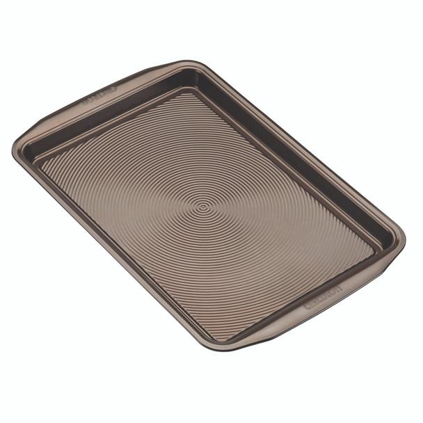 Circulon Nonstick 2-Piece Cookie Pan Set - Chocolate~47186