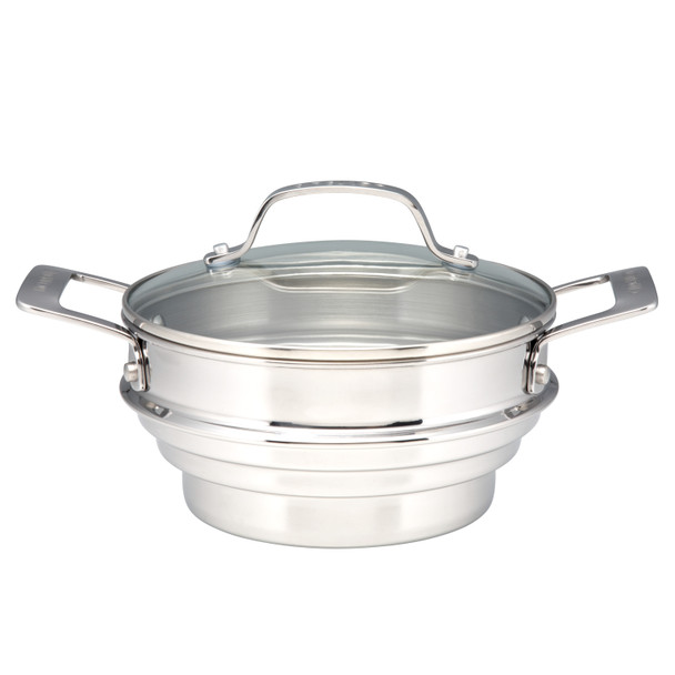 Circulon Stainless Steel Universal Steamer with Lid~70135