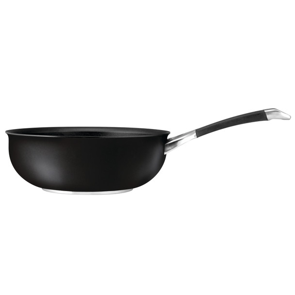 Circulon Symmetry Hard-Anodized Nonstick 4.5-Quart Chef Pan - Black~87505