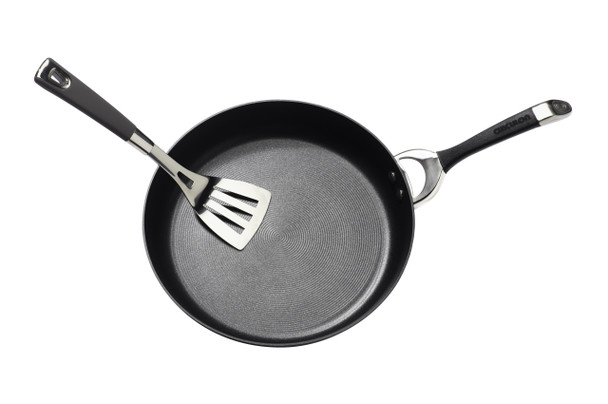 Circulon Symmetry Hard-Anodized Nonstick French Skillet Twin Pack - Black~87380