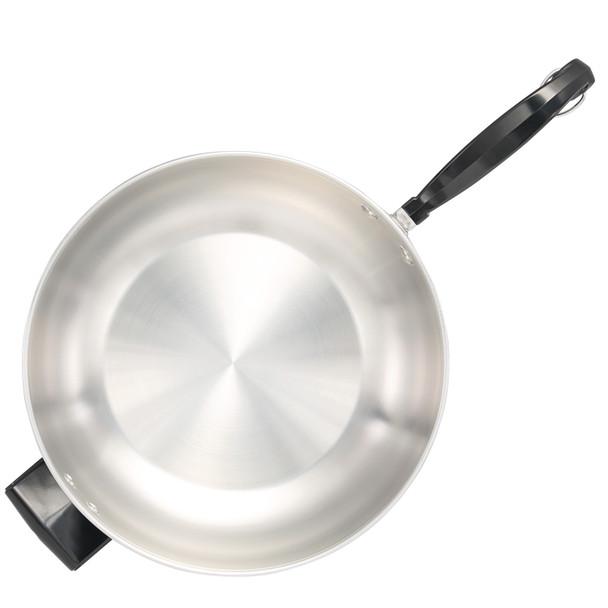 Farberware Classic Series Stainless Steel 6-Quart Jumbo Covered Chef's Pan~70097