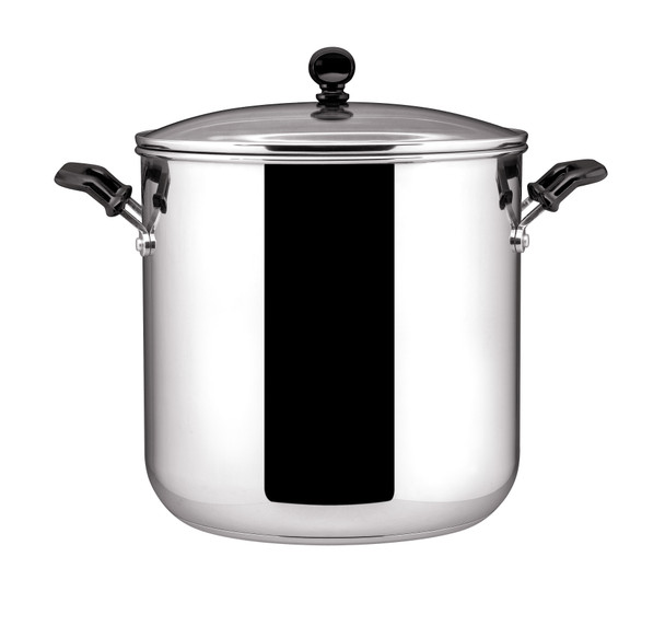 Farberware Classic Stainless Steel 11-Quart Covered Stock Pot~71534