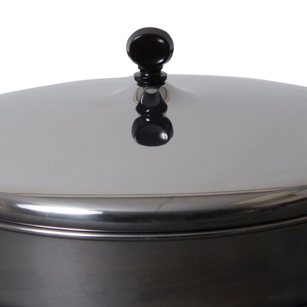 Farberware Classic Stainless Steel 1-Quart Covered Straining Sauce Pan~70752