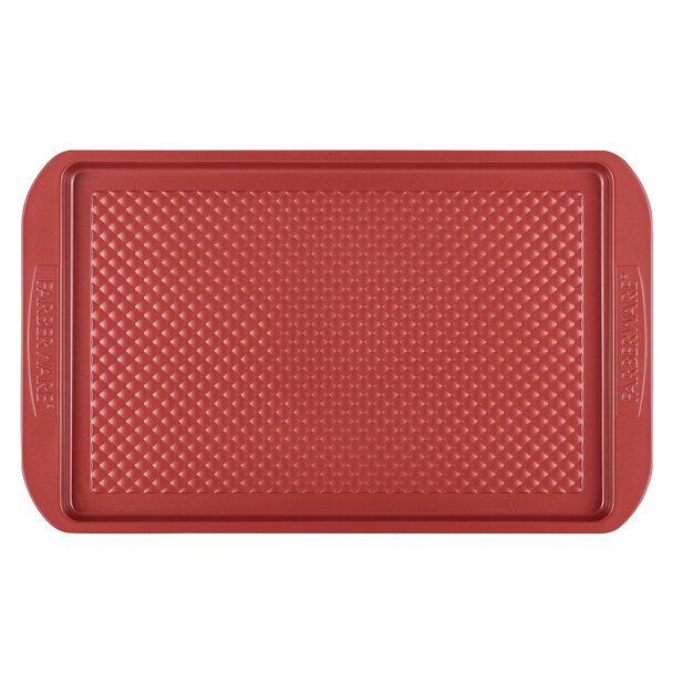 Farberware Colorvive Nonstick 11-inch x 17-inch Cookie Pan - Red~47137