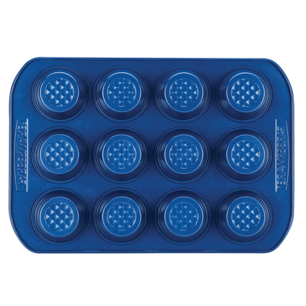 Farberware Colorvive Nonstick 12-Cup Muffin Pan - Blue~47575