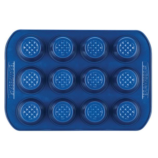 Farberware Colorvive Nonstick 12-Cup Muffin Pan - Blue~47575