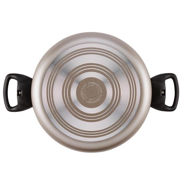 Farberware Dishwasher Safe Nonstick 3-Piece Cookware Set - Champagne~20110