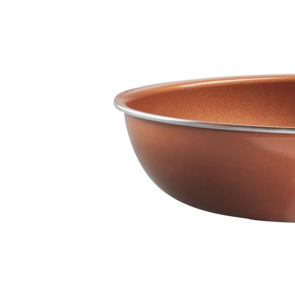 Farberware Glide Copper Ceramic Nonstick 10-inch Skillet - Copper~10356