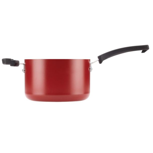 Farberware Neat Nest Space Saving Aluminum Nonstick 6-Piece Sauce Pan Set - Red~20474