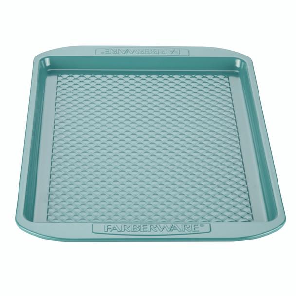 Farberware purECOok Hybrid Ceramic Nonstick 10-inch x 15-inch Baking Sheet & Cookie Pan - Aqua~46327