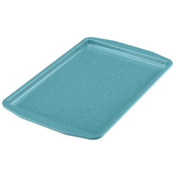 Paula Deen Nonstick 4-Piece Bakeware Set - Gulf Blue Speckle~46653