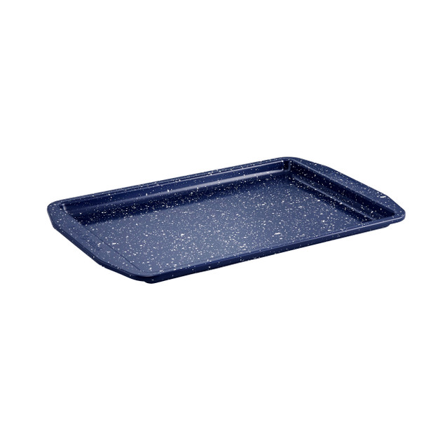 Paula Deen Nonstick Speckled 10-inch x 15-inch Cookie Sheet/Baking Pan - Deep Sea Blue Speckle~46814