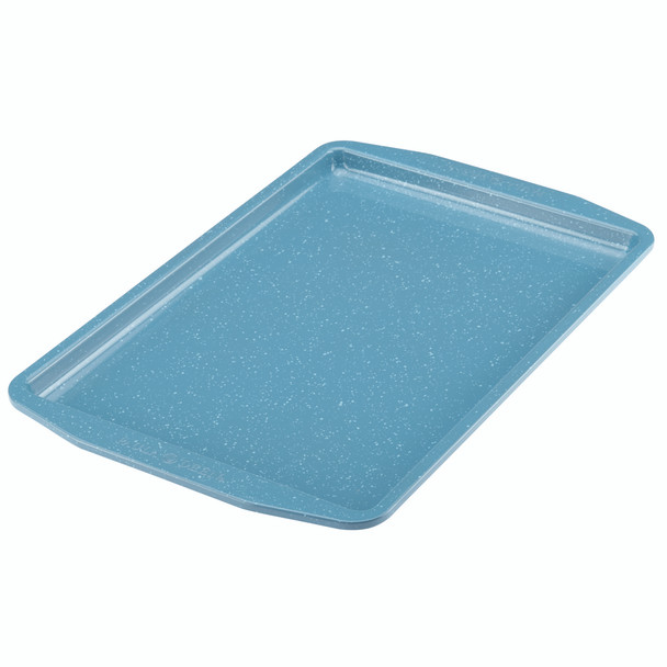 Paula Deen Speckle Nonstick 11-inch x 17-inch Cookie Pan - Gulf Blue Speckle~46250