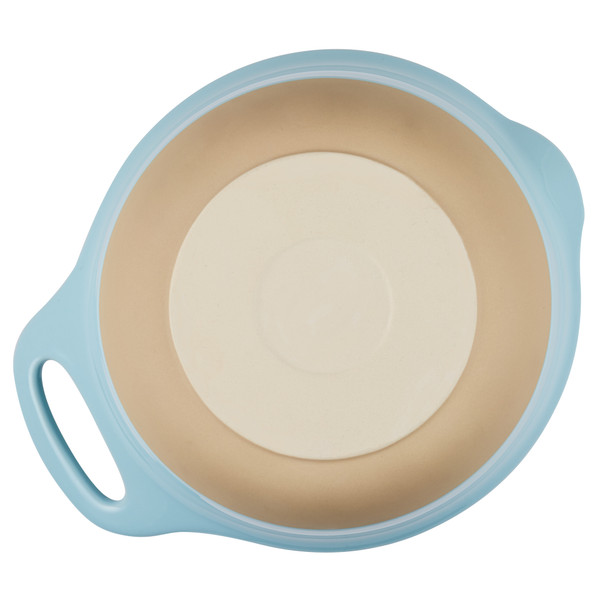 Rachael Ray Cityscapes 2-Piece Ceramic Mixing Bowl Set - Light Blue~47524