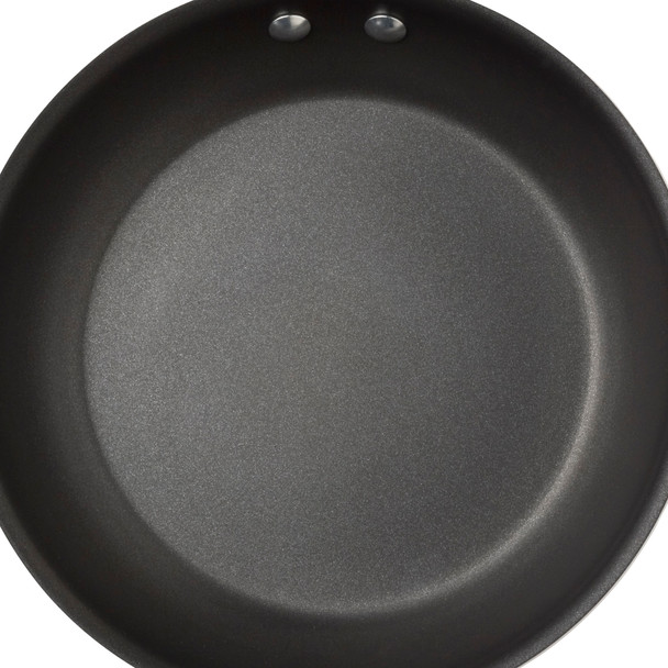 Rachael Ray Classic Brights Hard Enamel Nonstick 12.5-inch Skillet - Red Gradient~11538