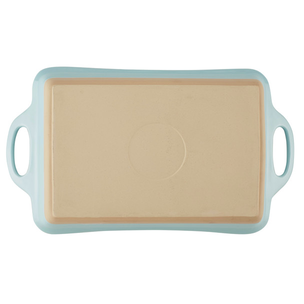 Rachael Ray Collection 9-inch x 13-inch Ceramic Baker - Light Blue~47520