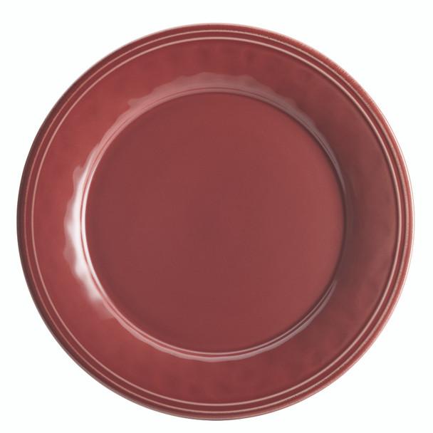 Rachael Ray Cucina Dinnerware 16-Piece Stoneware Dinnerware Set - Cranberry Red~55096