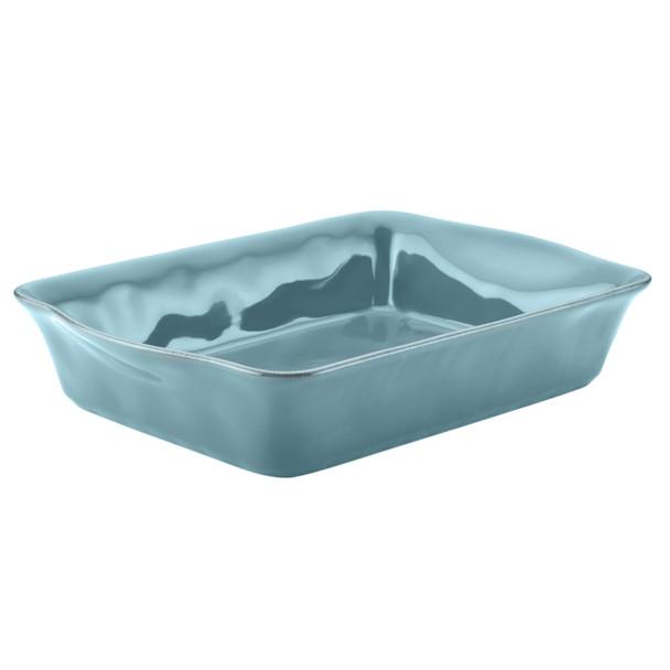 Rachael Ray Cucina Stoneware 9-inch x 13-inch Rectangular Baker - Agave Blue~58324
