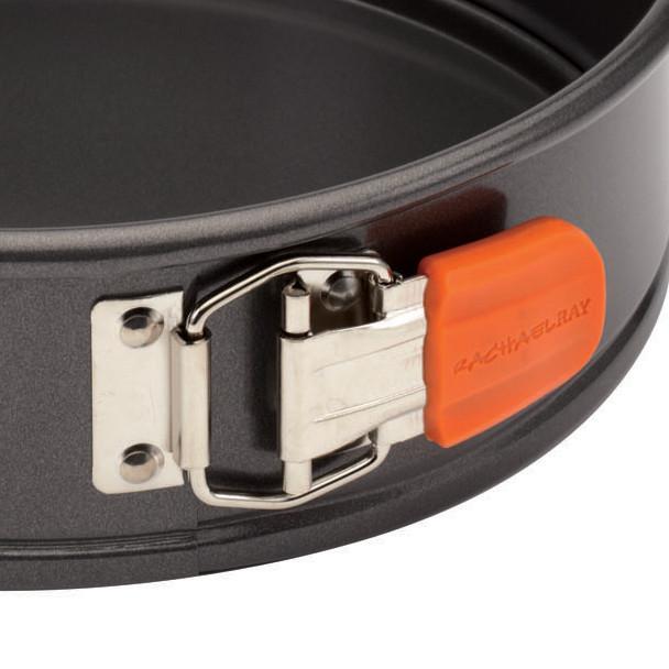 Rachael Ray Nonstick 9-inch Oven Lovin' Springform Pan - Gray with Orange Grip~57814